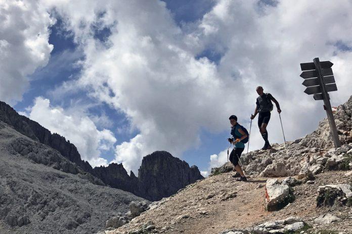 D360 - Dolomiti Experience Trail - passo molignon