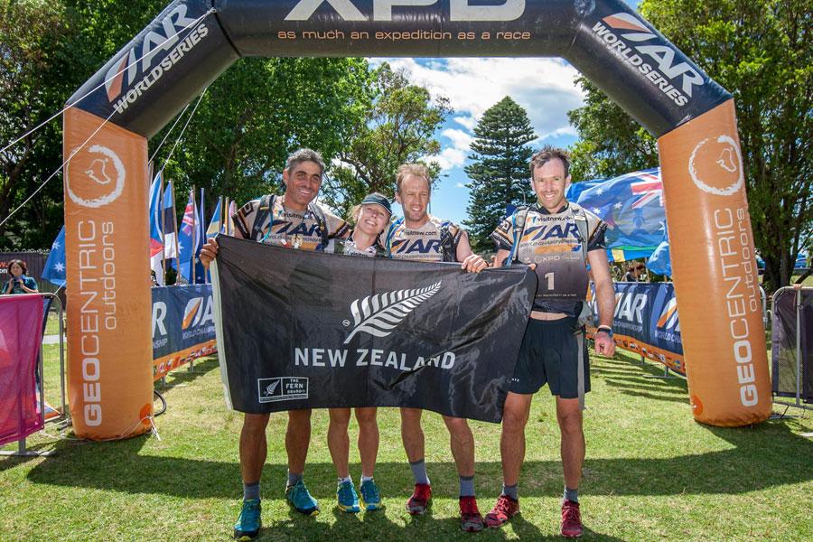 Seagate Nuova Zelanda campione del mondo di Adventure Race